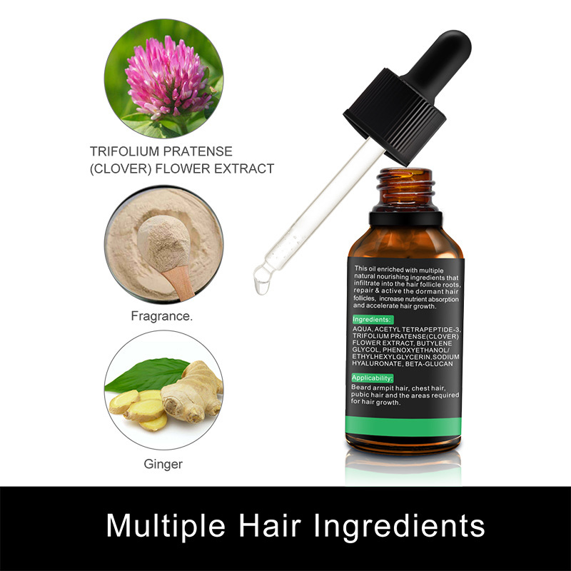 Natural Organic Beard Liquid Beard Growth Conditioner Grooming Moisturizing Moustache Care Men Beard Care Aftershave Water 3