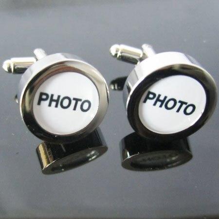 사진 커프스 단추 15 쌍 도매 무료 배송-에서타이 클립 & 단추부터 쥬얼리 및 액세서리 의  그룹 1