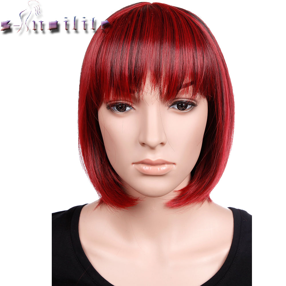 Superb Popular Red Bob Hair Buy Cheap Red Bob Hair Lots From China Red Hairstyles For Men Maxibearus