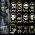 Original Balaclava Ghost Skull Mask Military Hats Motorcycle Ski Cycling Airsoft Bike Hood Tactical Paintball Full Face Masks
