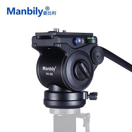 3-Way tête fluide culbuteur bras vidéo trépied rotule pour DSLR caméra trépied monopode pour curseur monopode DSLR caméra de prise de vue vidéo
