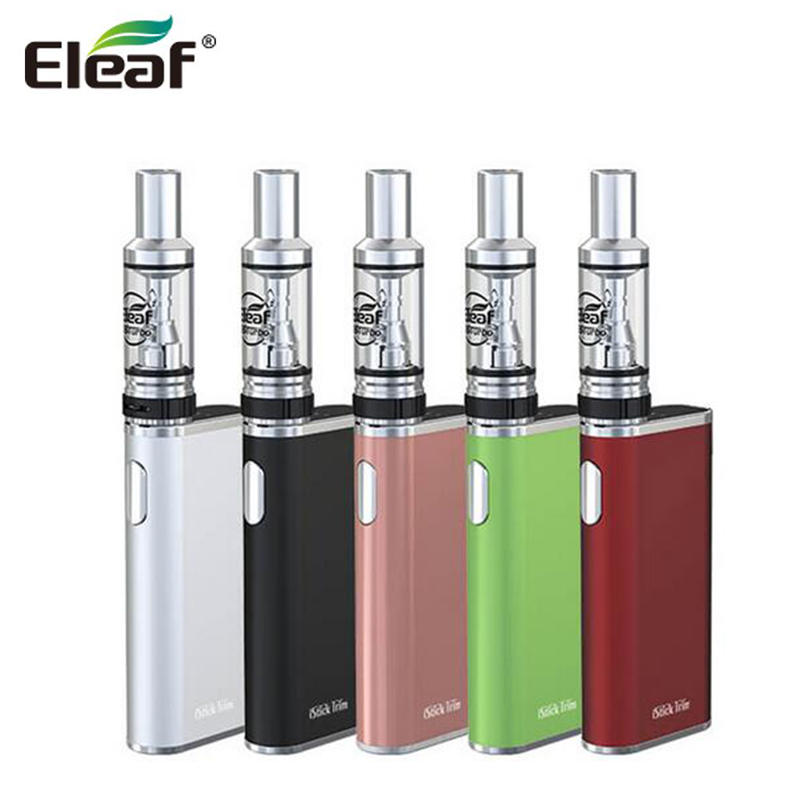 Original Eleaf iStick Trim with GSTurbo Tank Kit 1.8ML Atomizer 1800mAh Battery iStick Trim Box MOD Electronic Cigarette
