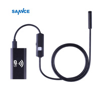 8mm Lens Wifi Android Iphone Endoscope Camera 1M 2M 3 5M 5M Waterproof Snake Tube Pipe