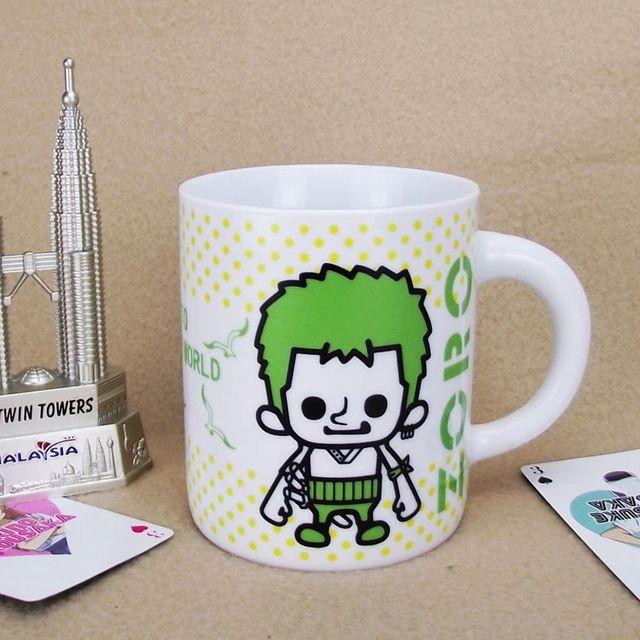 One Piece Ceramic Coffee Tea Mug