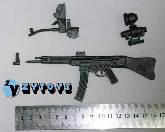 "1/6 Scale Soldier Weapon Model Toys WWII German Sturmgewehr 44 MP44 Gun Model For 12"" Action Figure Body   Accessory"