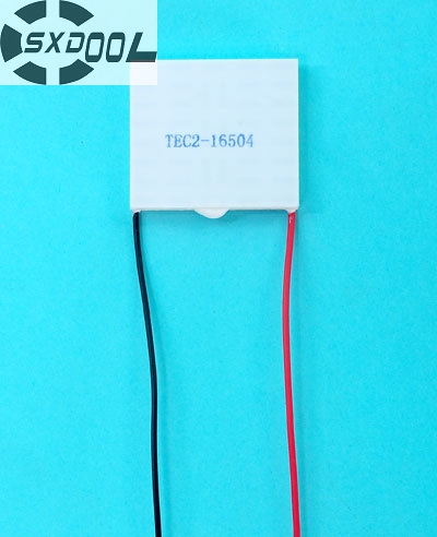 SXDOOL Cooling TEC2 16504 Peltier modlue Thermoelectric Cooler Semiconductor 40 45 6 8 mm DC12V Qmax