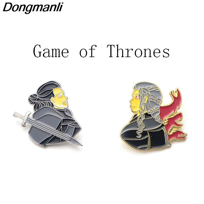P3509 Wholesale 20pcs lot Heat TV Show Enamel Pins and Brooches for Women Men Lapel pin