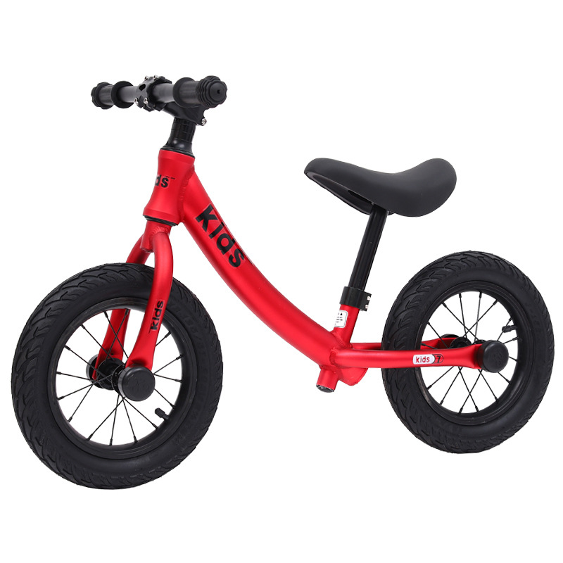 12 Inch Aluminum Balance Bike Toddler No Pedals For 2 – 6 Year Old, 2 Wheel