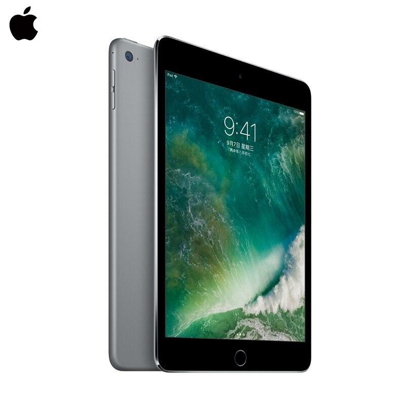 D'origine Apple iPad Mini 4 7.9 pouce Comprimés pc 128g WiFi Écran Retina A8 Puce Deux Caméras HD 10 heures Batterie Vie Tactile ID