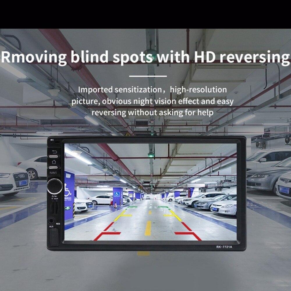 Профессиональный 7 дюймовый HD 1024*600 емкостный экран 7 цветной светильник с функцией автомобильного dvd плеера Европейская Карта - 3