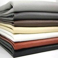 Niza cuero de la PU, cuero de imitación Telas para Costura, cuero artificial de la PU para el material del bolso de DIY, anchura: 1.4 M, 1 medidor para una pieza
