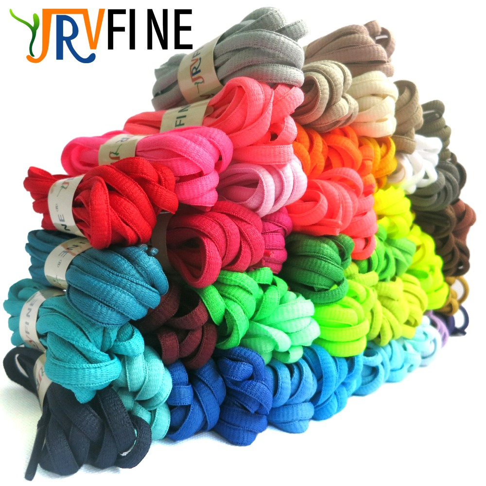 YJRVFINE 1Pair Oval Shoelace Shoelaces Shoe Lace Ropes Shoestrings for Boots&Athletic Sport Shoes &Sneakers(57 Colors to Choose)