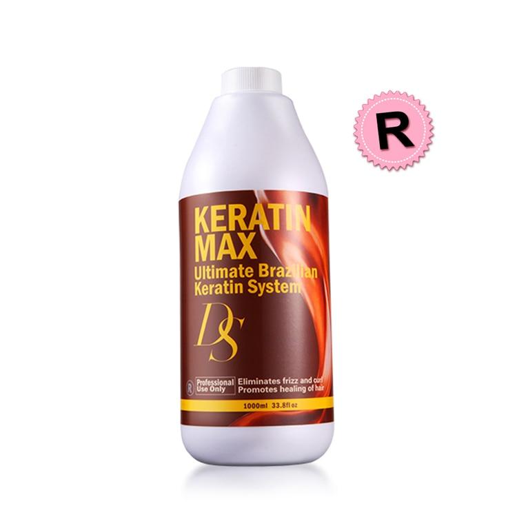 Купить с кэшбэком Repair Damaged Hair Professional Deep Cleaning Purifying Shampoo+1000ml 12% Formalin Keratin Treatment Straighten Eliminate friz