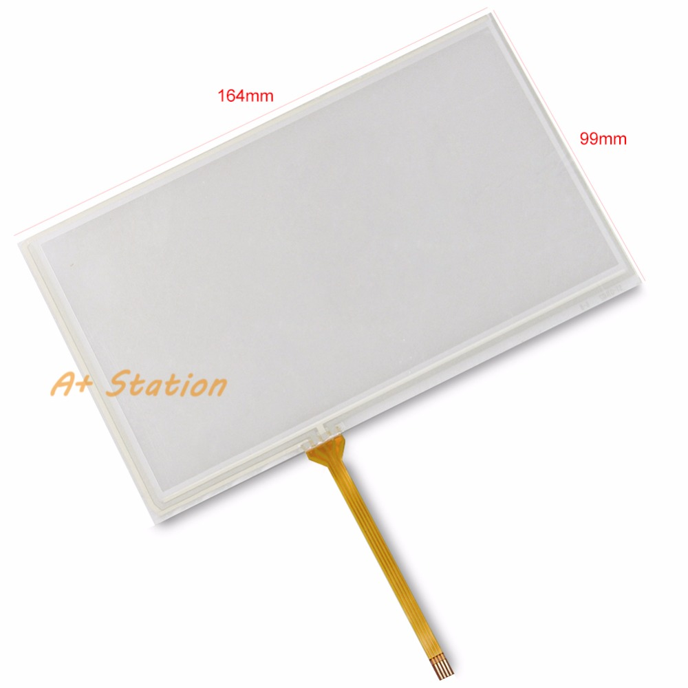 5PCS New 7 Inch For PA600 Touch Screen Glass Panel Digitizer Replacement new xbtg5230 touch screen touch glass pa n el
