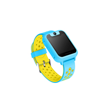 anti-lost touch screen gps tracker with camera flashlight watch for kids