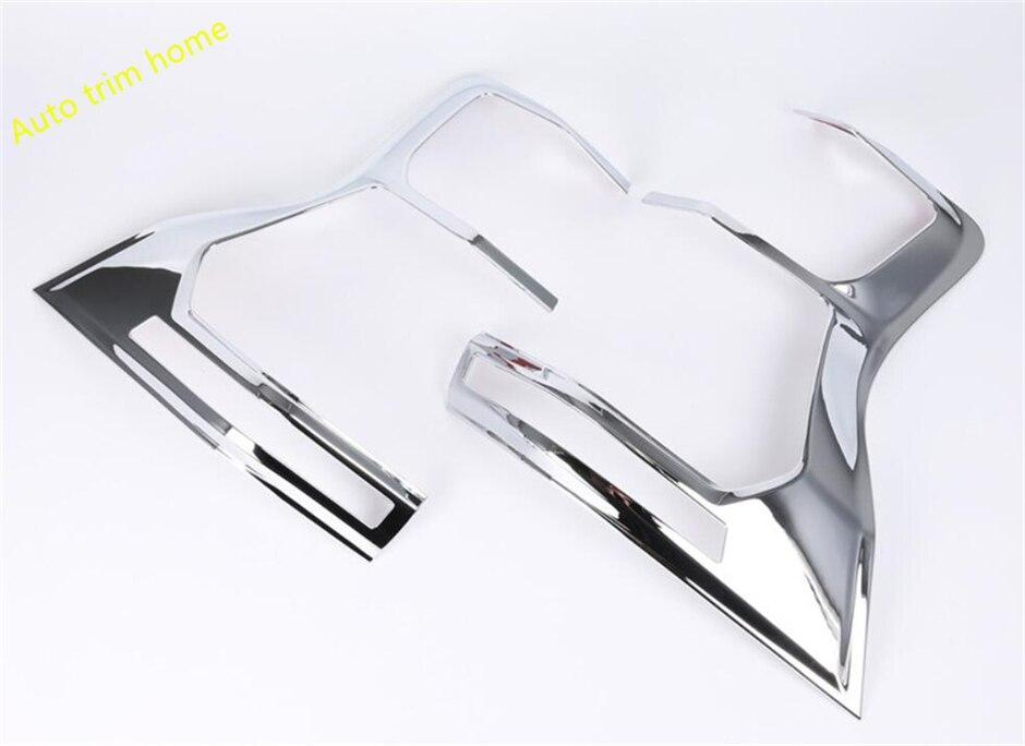 Lapetus pour Toyota Land Cruiser Prado FJ150 2018 ABS arrière derrière feu arrière lampe moulage garniture couvercle 2 pièce/ensemble