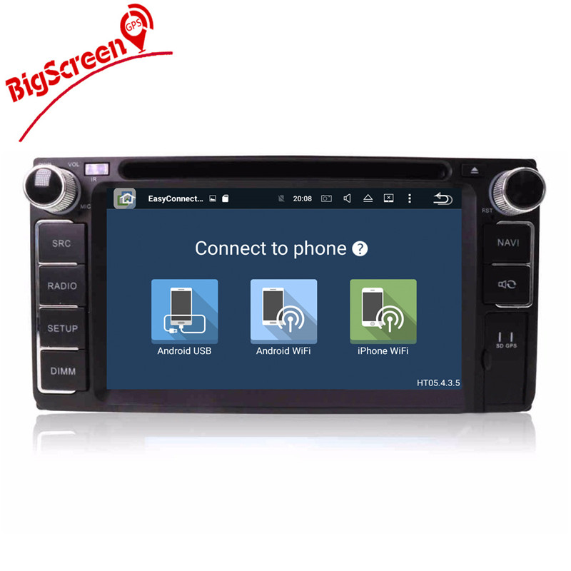 Flash Deal Android8.0 7.1 System Octa 8 Core Car DVD Player GPS Navigation For Most of Toyota Car Headunit Multimedia Autoradio Monitor 3