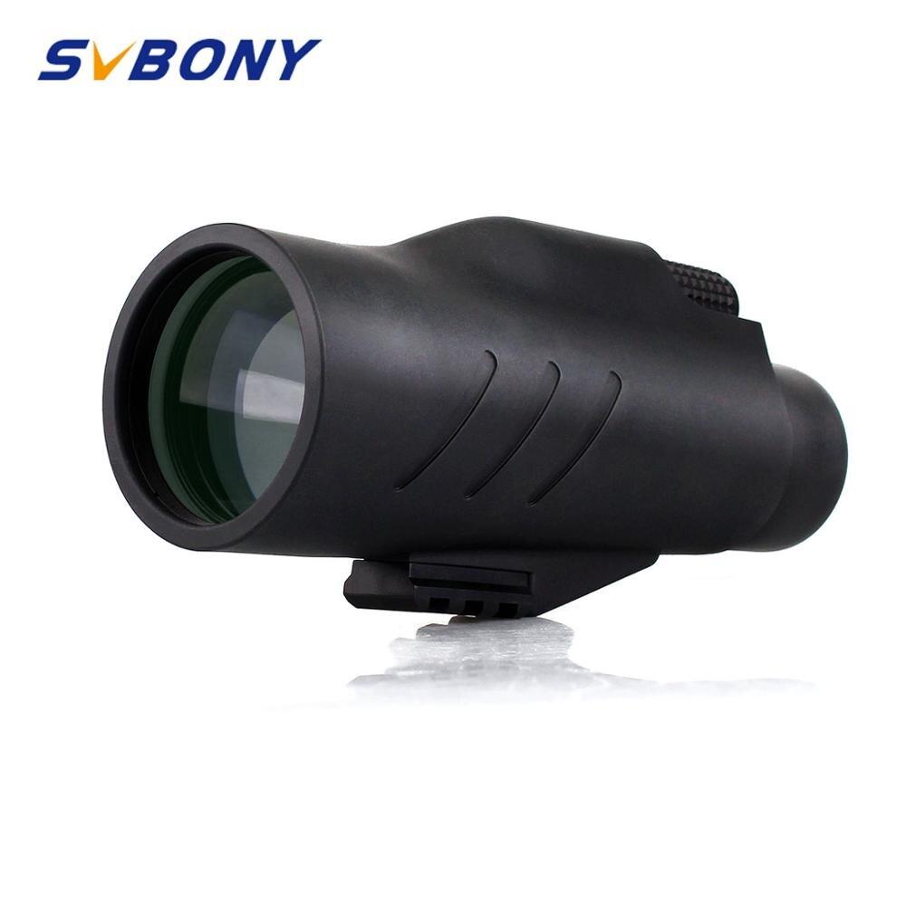 SVBONY BAK4 12x50 Telescópio Monocular Prisma MC de Banda Larga para a Caça de Acampamento Caminhadas À Prova D' Água w/Alça de Mão F9317