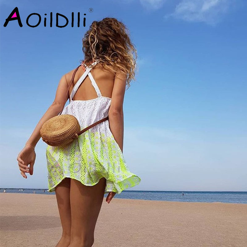 2018 INS mujeres populares hecho a mano playa Bali paja círculo verano rota tejida mujeres bolsa de mensajero
