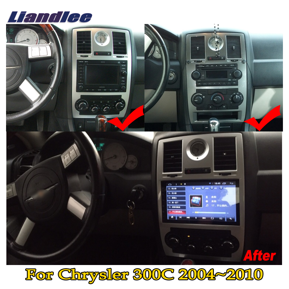 """Liandlee 9"""" HD touch For Chrysler 300C 300 2004~2010 Car Android Radio Player GPS Navi Nav Maps Media OBD Camera TV no CD DVD-in Car Multimedia Player from Automobiles & Motorcycles    3"""