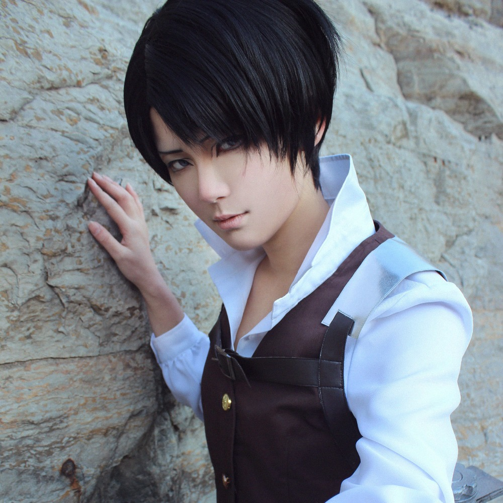 Hervorragend Anime Attack on Titan Cosplay Rivai Ackerman Costume Cleaning  UY93