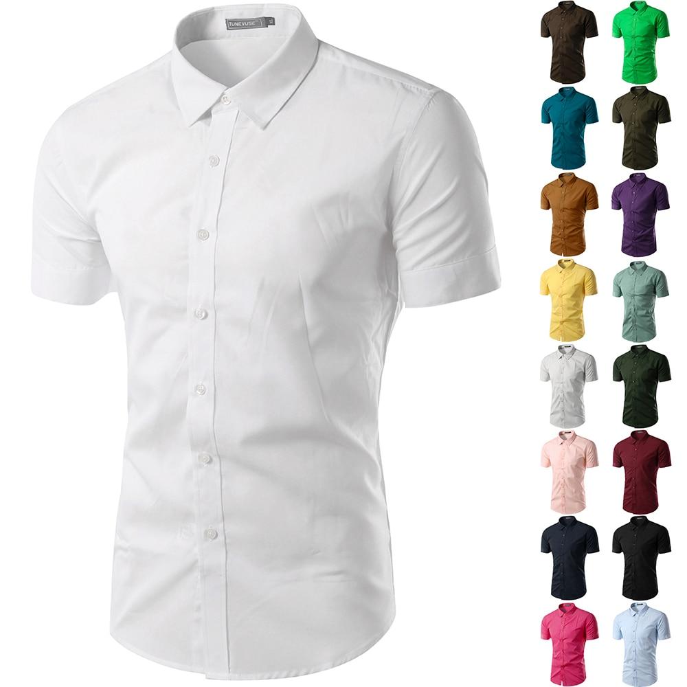 87c123dc2dd Mens White Dress Shirt Short Sleeve | Azərbaycan Dillər Universiteti