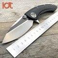 Тактический складной нож LDT с КИТ-акулой  D2 лезвие G10  ручка  Флиппер  походные ножи для выживания  охоты  карманный нож  инструмент для повсед...