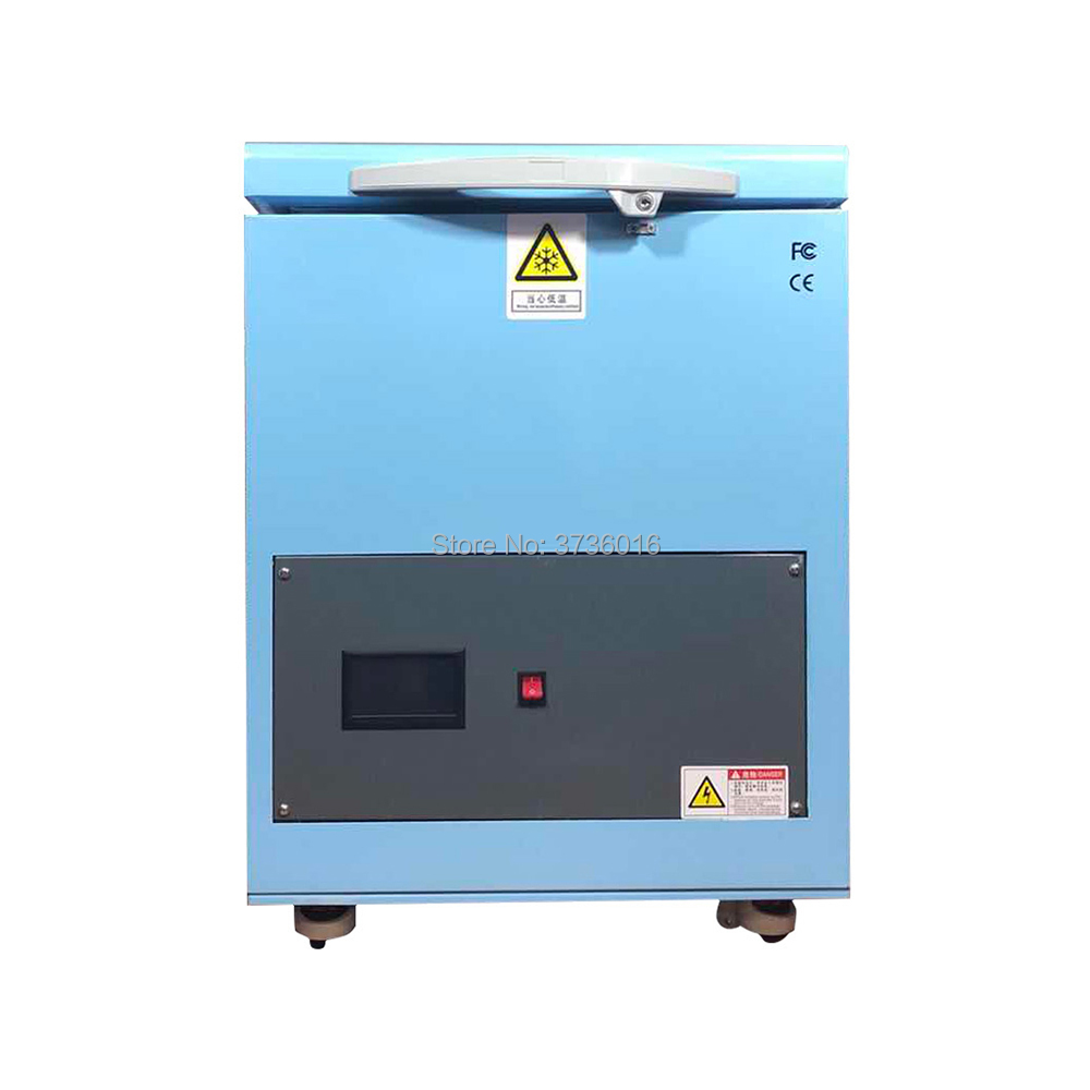 New TBK -175 degress LCD separator freezer machine for iphone for samsung edge lcd display middle frame separate frozen machine