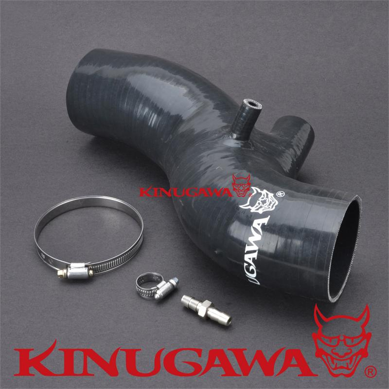 Kinugawa Turbo Silicone Hose Air Suction for 4G63T EVO 8/9 Turbo epman silicone intercooler turbo boost hose for audi all s4 a6 2 7l bi turbo kit 98 03 12pcs ep adt004