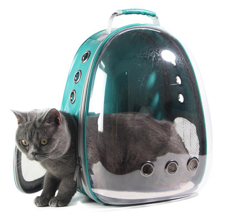 New Cat carrying Backpack Pet Cat Backpack for Kitty Puppy Chihuahua Small Dog Carrier Crate Outdoor Travel Bag Cave for Cat in Carriers Strollers from Home Garden