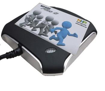 Rakinda 5301-Desktop/ Fixed Mount Dual-purpose NFC Mifare Reader 13.56Mhz with USB interface