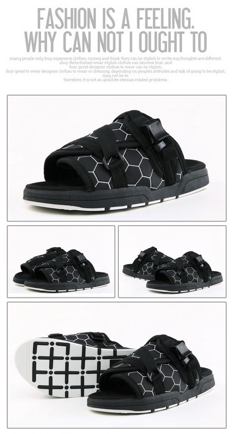 aeb5b7ff5c01 MIUBU Summer Hot Sale Brand Visvim Sandals Fashion Men Unisex Lovers ...