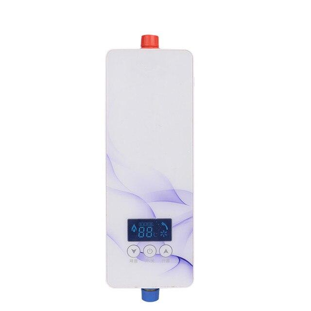 5500 Watt elektrische durchlauferhitzer für badezimmer Dusche küche ...