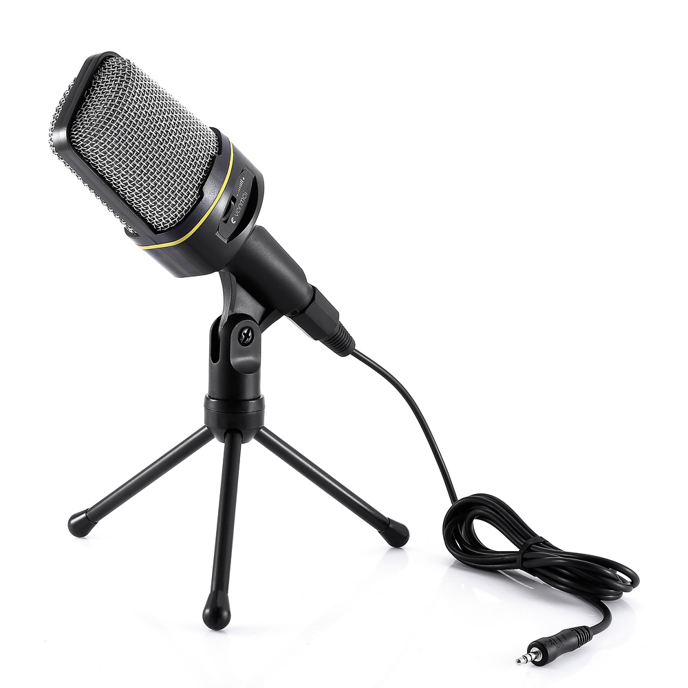 yanmai unidirectional dynamic condenser sound microphone stand holder msn skype pc laptop skype. Black Bedroom Furniture Sets. Home Design Ideas