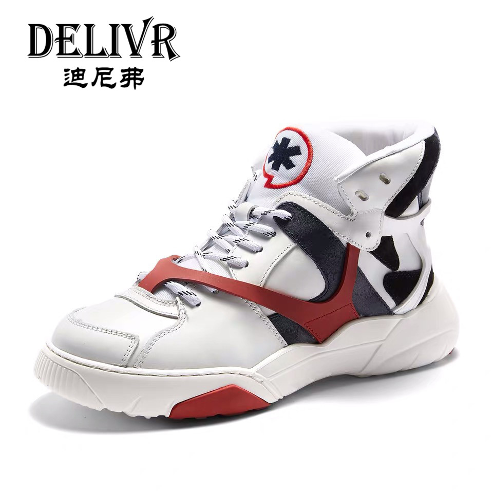 Delivr Sneakers Men Shoes High Top Breathable Vulcanized Shoes Masculino Adulto Dad Shoes High Platform Fashion Dad Sneakers Delivr Sneakers Men Shoes High Top Breathable Vulcanized Shoes Masculino Adulto Dad Shoes High Platform Fashion Dad Sneakers