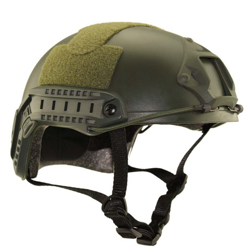 Tactical FAST MH helmet military helmet night vision PVS-7 14 outdoor tactical helmet for CS wargame hunting  black sand green tactical wargame motorcycling helmet w eye protection glasses black size l7