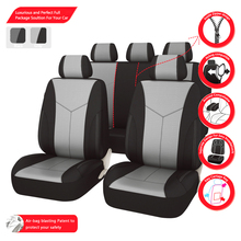 Car-pass 11PC Front And Rear Car Auto Seat Covers  New styling Luxury  Car Seat Covers For Universal 5 Seat Covers For hyundai