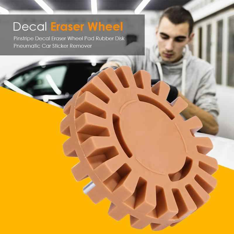 Universal Rubber Pinstripe Decal Eraser Wheel Pad Rubber Disk Pneumatic Car Sticker Remover Car Glue Adhesive Sticker Repair Pai