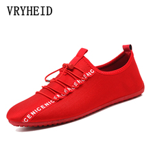 VRYHEID Brand Fashion Canvas Men Shoes New 2019 Spring Autumn Male Sneakers for Men's Casual Shoes Breathable  Flat Shoes