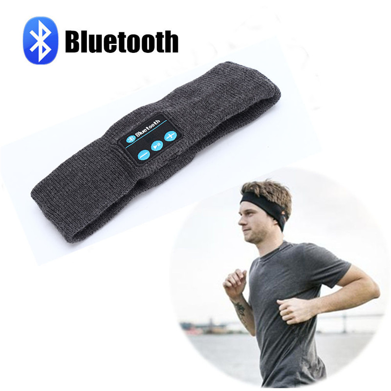 Smart Sport Bluetooth Headband Wireless Handsfree Music Headband for Smartphone Men Women Hair Accessory Running Headphone