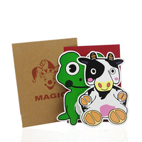 2017 New Arrival Magic Cow And Frog Magic Tricks Comedy Close Up Illusions