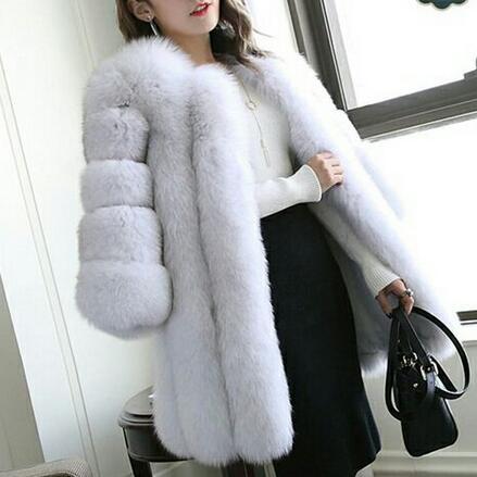 Manteau De Renard Veste Bleu Femmes 4xl Hiver Rose Df595 S Longue Faux Mince Luxe Manteaux Fourrure Rouge q0gUOEn