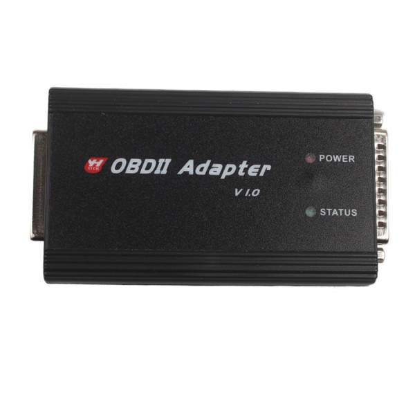OBD II Adapter Plus OBD Cable Works with CKM100 and Digimaster 3 Digimaster III for Key Programming