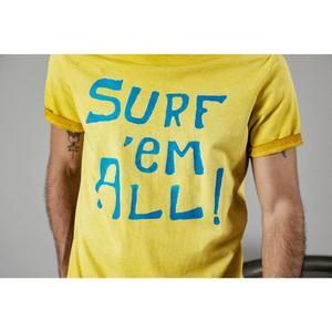 Image 4 - SIMWOOD 2020 yaz yeni t gömlek erkekler vintage % 100% pamuk moda mektubu baskı t shirt yüksek kalite üstleri marka giyim 190196