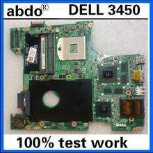 Abdo DAV02AMB8F1 материнская плата для ноутбука DELL Vostro 3450 V3450 ноутбук материнская плата CN-0GG0VM 0GG0VM PGA989 HM67 DDR3 тесты работы