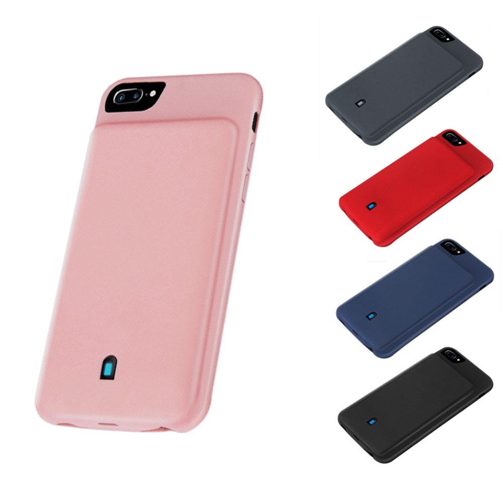 4500mAh External Battery Power Bank Phone Cases For iPhone 6 6s 7 8 Battery Case Charger Cover Phone Backup Bateria Charge