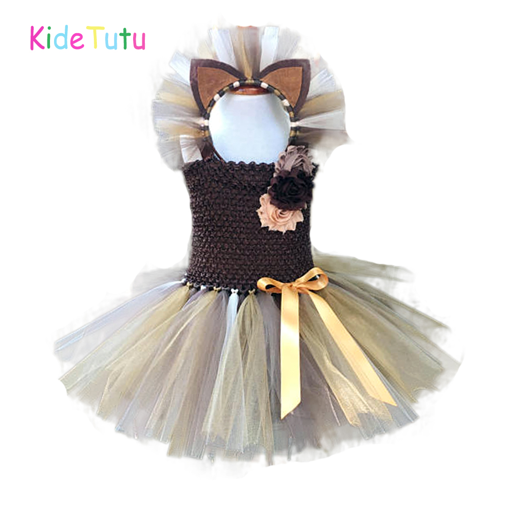 Baby Superhero Tutu Fancy Party Dress Outfit Costume with Headband