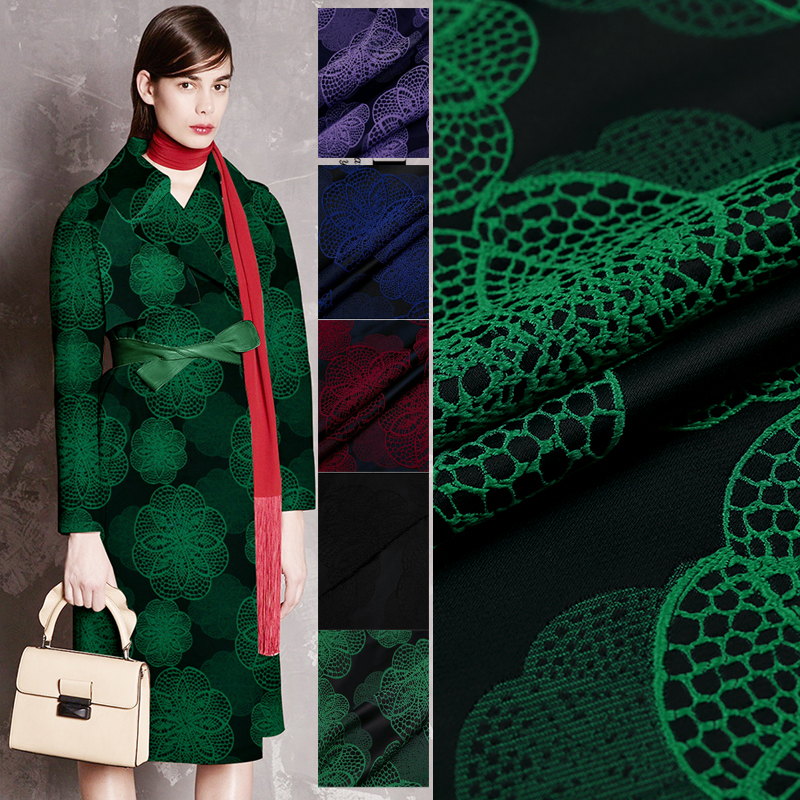 143 100cm Good Brocade Fabric French Design Fashion Jacquard