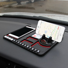 Silicone Car Phone Holder Temporary No parking Card Number