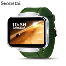 New WiFi GPS DM98 Android Smart Watch RAM 512MB ROM 4GB With 2.2inch 320*240 Touch Screen nano SIM For Android Phone